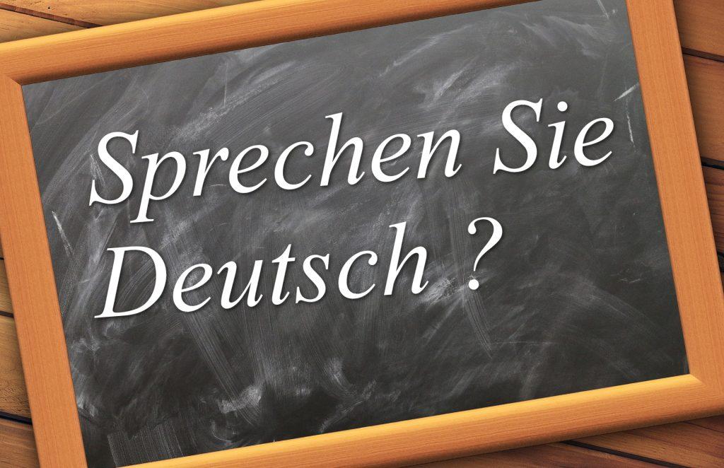 apprendre l'allemand